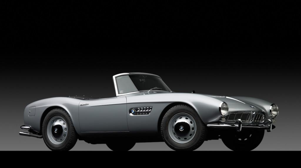 BMW 507 - Maneken. Točka.